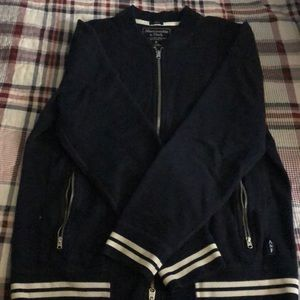 Abercrombie and Fitch blue jacket